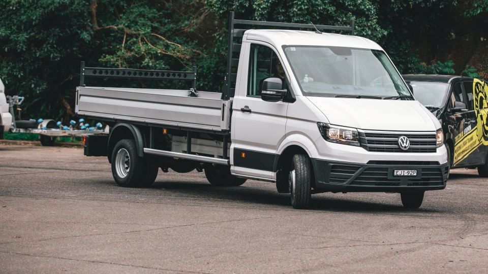 2020 Volkswagen Crafter 50 cab-chassis review