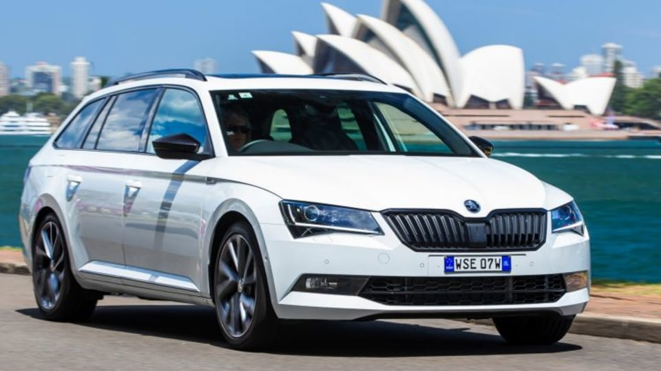 The 2017 Skoda Superb Sportline wagon offers value-packed appeal.