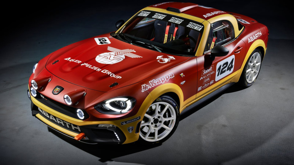 Fiat Preparing Fixed-Roof 124 Coupe Off MX-5 Chassis