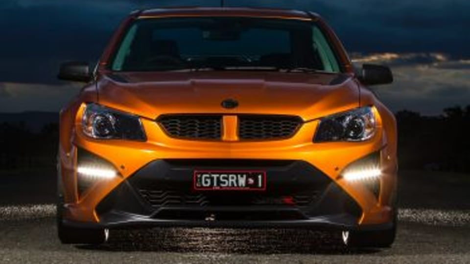 The last drive in Australia's HSV GTSR W1