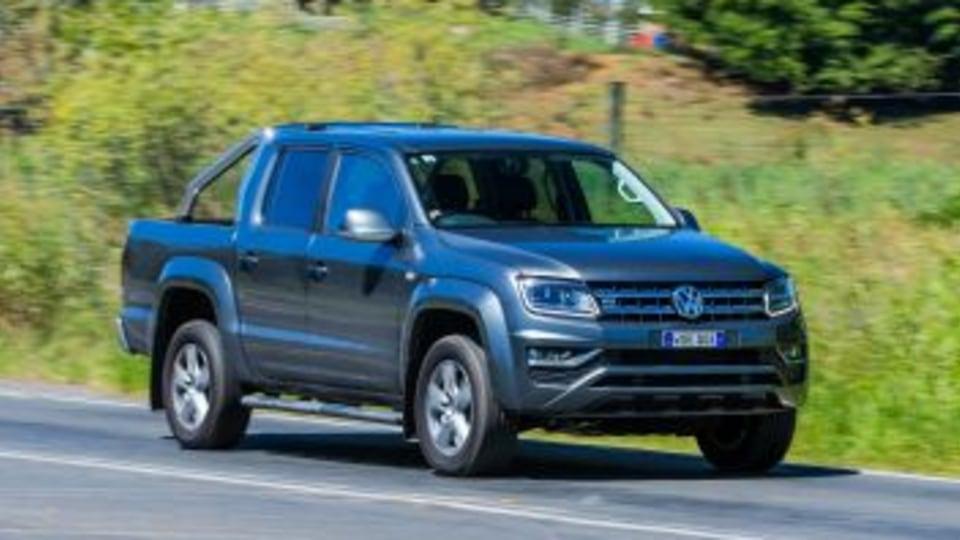 2017 Volkswagen Amarok Highline.