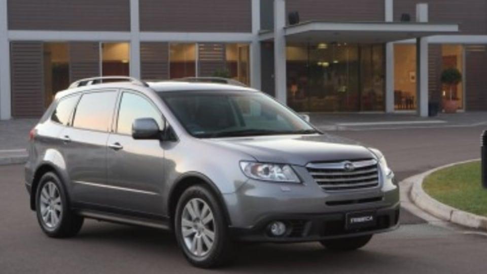 Seven-seat SUV off Subaru menu