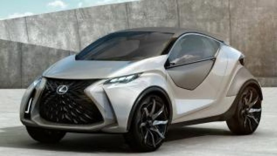 The 2015 Lexus LF-SA concept points to a compact luxury hatch.