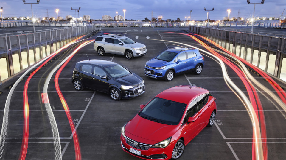Holden Acadia SUV Revealed, New Trax, Barina, A Large RWD Sedan...? - Holden Transformation Begins