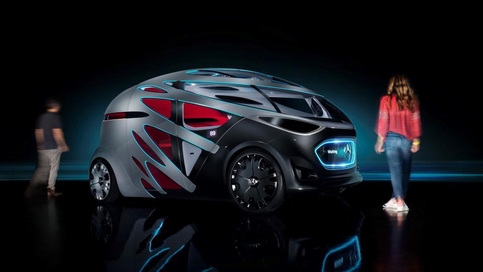 Mercedes-Benz unveils new Vision Urbanetic concept