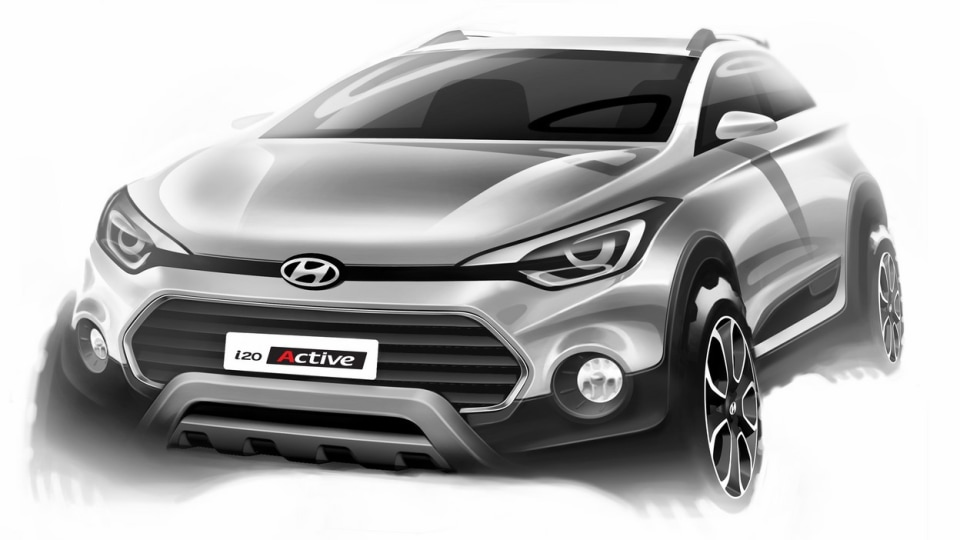 Hyundai i20 Active SUV Gets Official Teaser Campaign