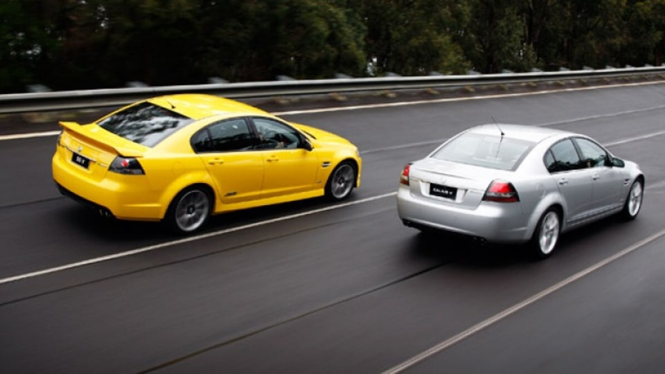 Holden Commodore SS V and Holden Calais V (both VE Series II)