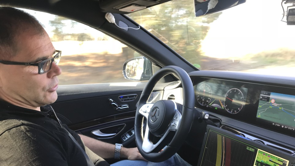 Mercedes S-Class Intelligent World Drive.