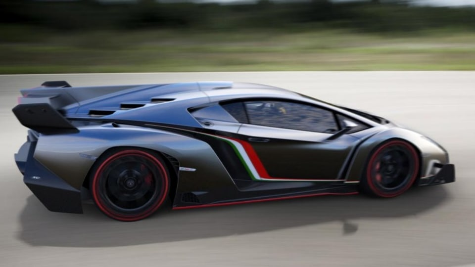 The Lamborghini Veneno.