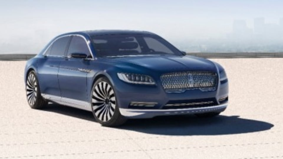 Lincoln Continental due in 2016