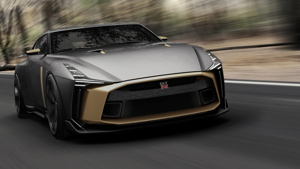 Nissan's GT-R50 by Italdesign concept.