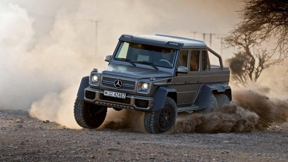 Mercedes-Benz G63 AMG 6x6