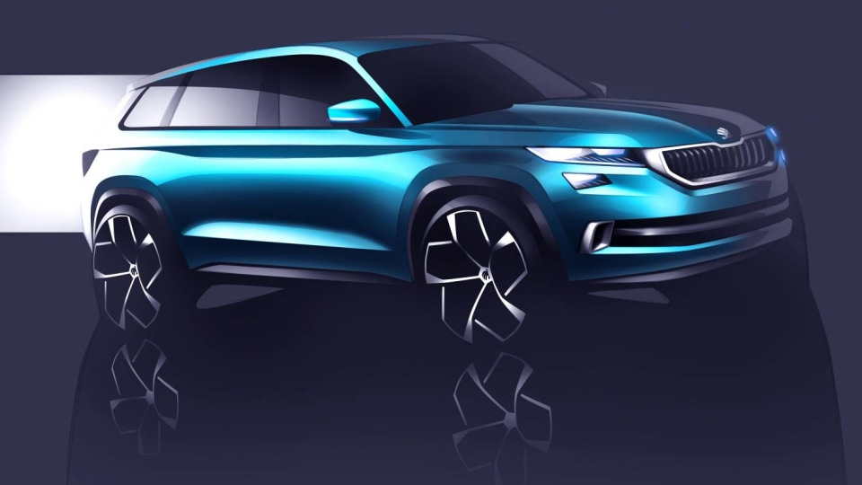 Skoda VisionS Previews Upcoming Czech 7-seat SUV, Will Debut At Geneva