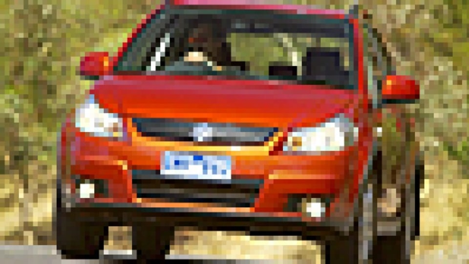 The all-wheel-drive SX4 engages two-wheel-drive mode for most road conditions.