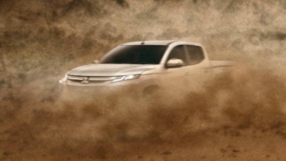 Mitsubishi teases next-gen Triton