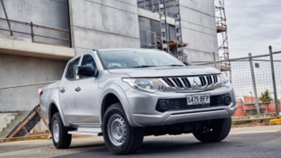Tom can get himself into a new or near-new Mitsubishi Triton which comes with a five-year warranty.