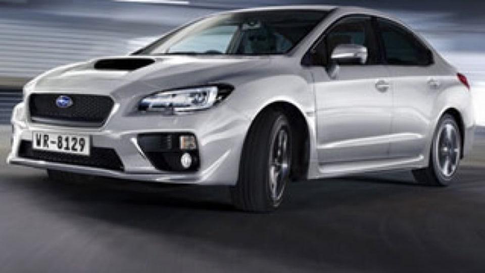 Subaru WRX: official details