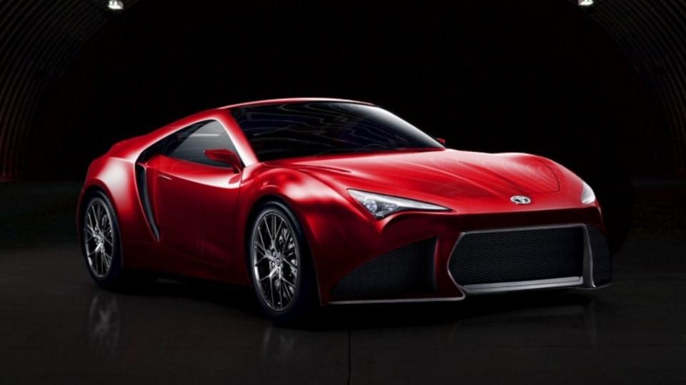 A potential Toyota Supra illustration Drive.