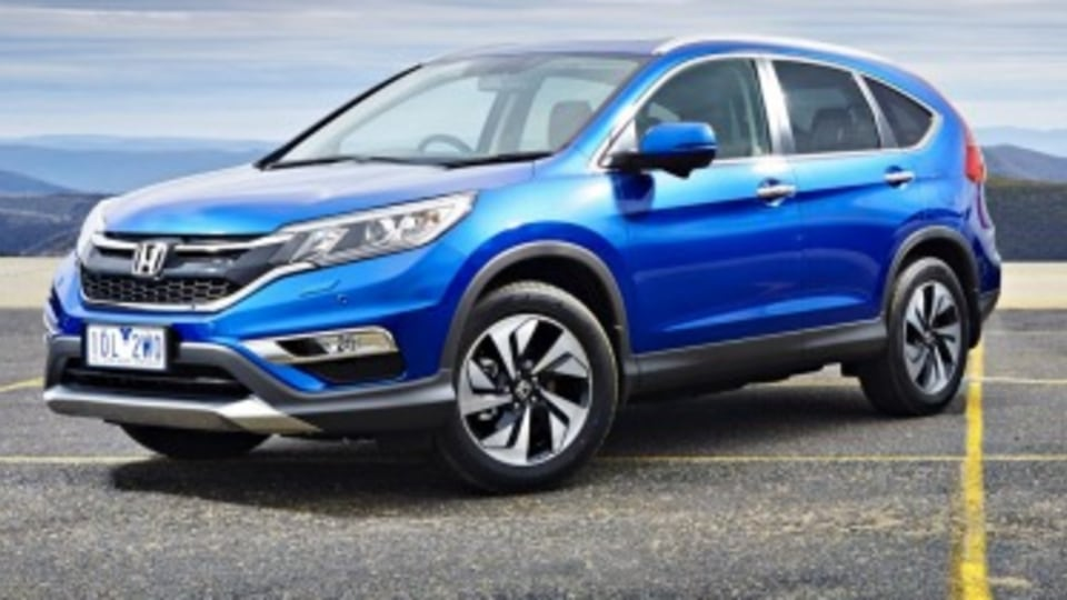 Honda updates CR-V SUV for 2015