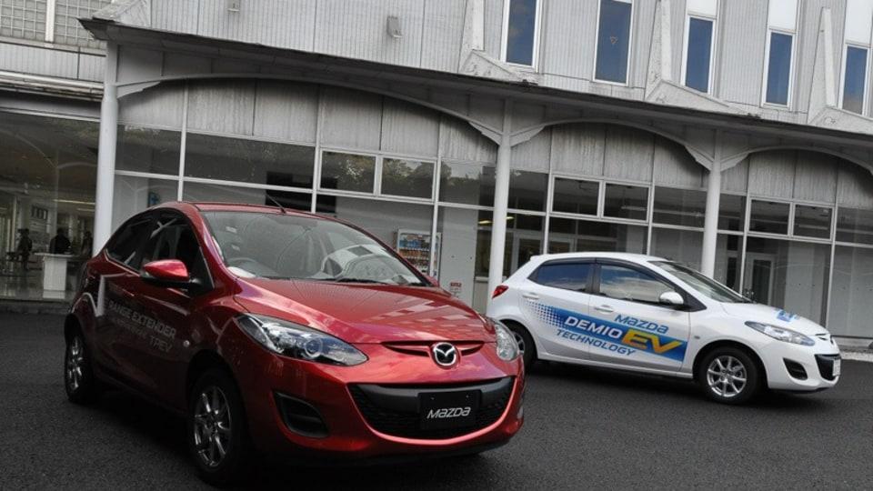 2013 Mazda2 Rotary Engine Range Extender - Prototype