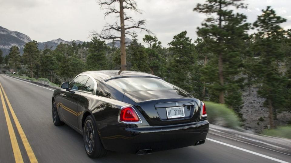 2016 Rolls-Royce Wraith Black Badge.