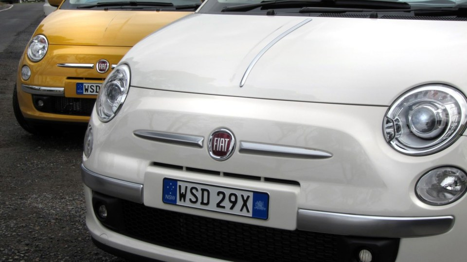 2013 Fiat 500 Pop, Lounge And S Review