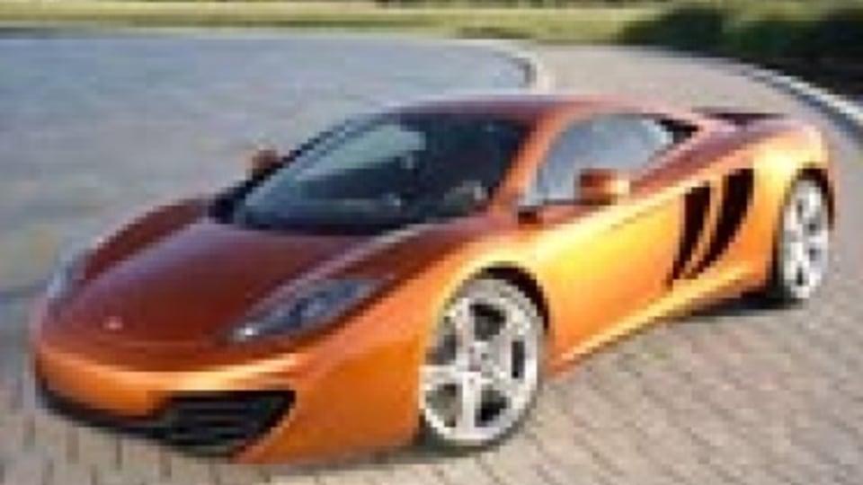 McLaren MP4-12C:  British Ferrari fighter revealed