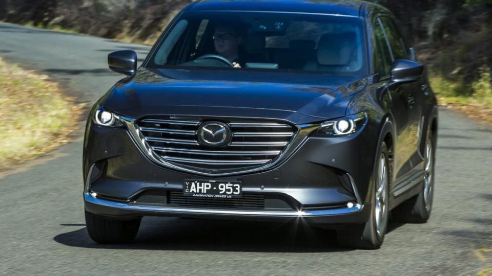 The all new Mazda CX-9.