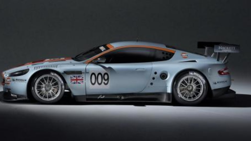 Aston to defend GT1 title with Gulf Oil liveried DBR9's