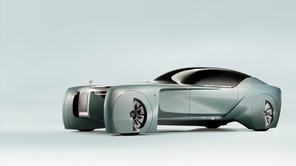 Rolls-Royce 103EX concept car.