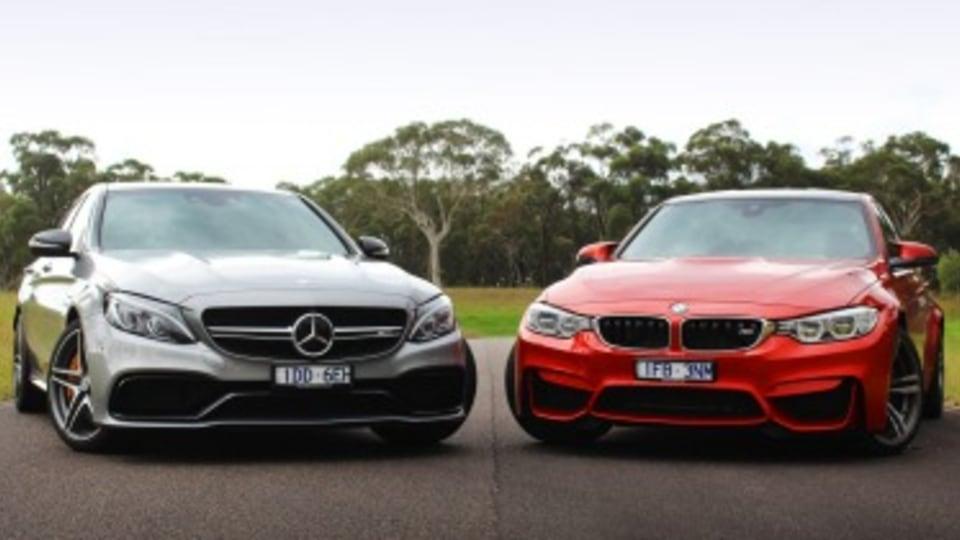 Head to head: Mercedes-AMG C63 S vs BMW M3