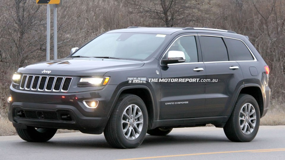 2014 Jeep Grand Cherokee Update Spied Ahead Of Detroit Debut