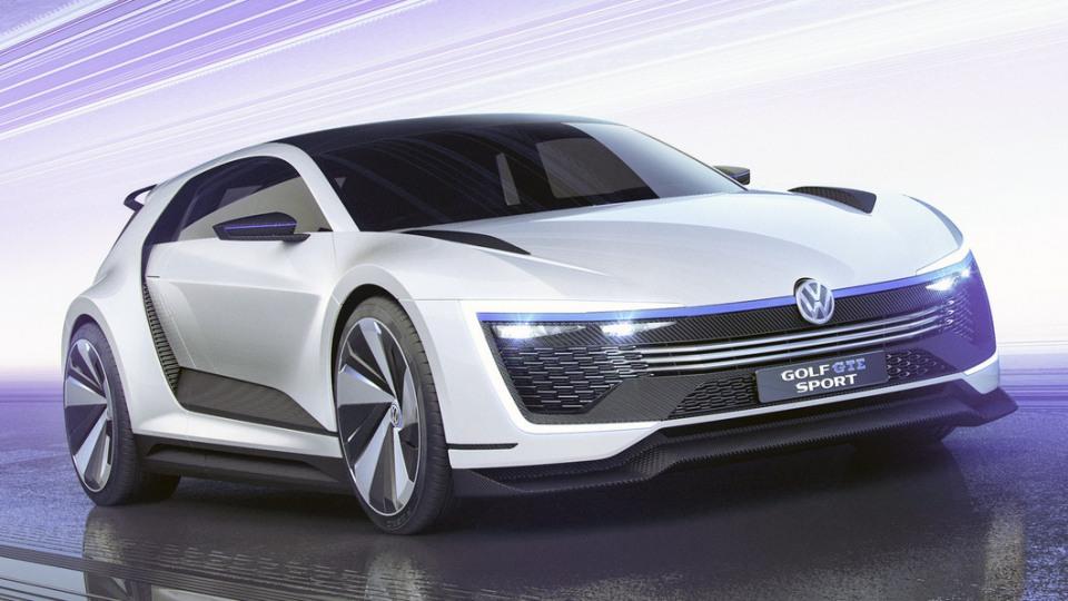 Volkswagen Golf GTE Sport Concept Is A 295kW Hybrid Hero