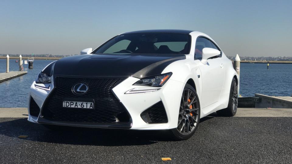 2017 Lexus RC F Carbon quick spin review