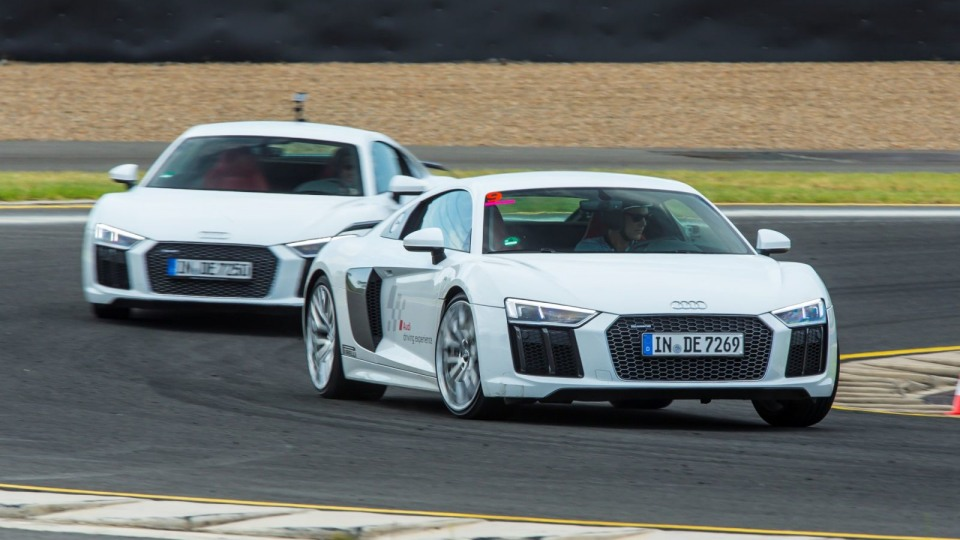 2016 Audi R8 V10 Plus – Track Test Review