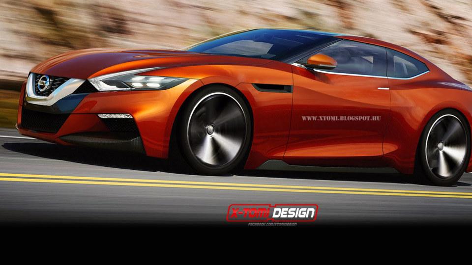 Rendered: Nissan Sport Sedan Evolves Into New GT-R