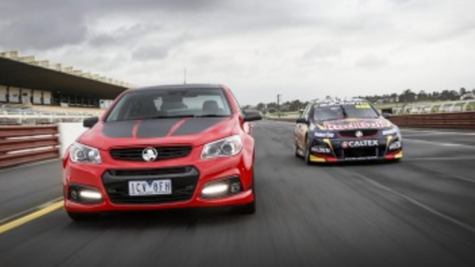 Road vs racer: Lowndes two - very different - Commodores.