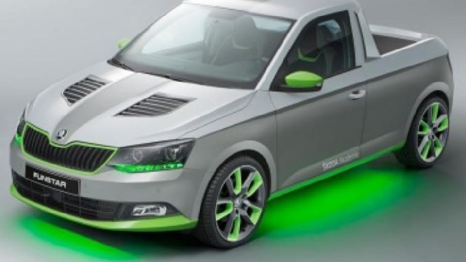 Skoda toys with ute concept
