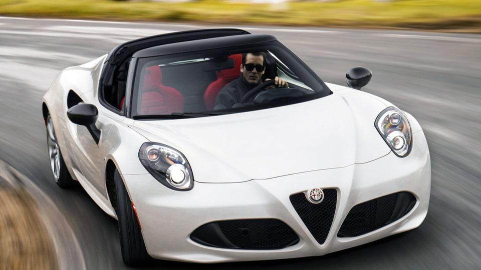 Alfa Romeo 4C Spider - Under $100k And In Australia From November