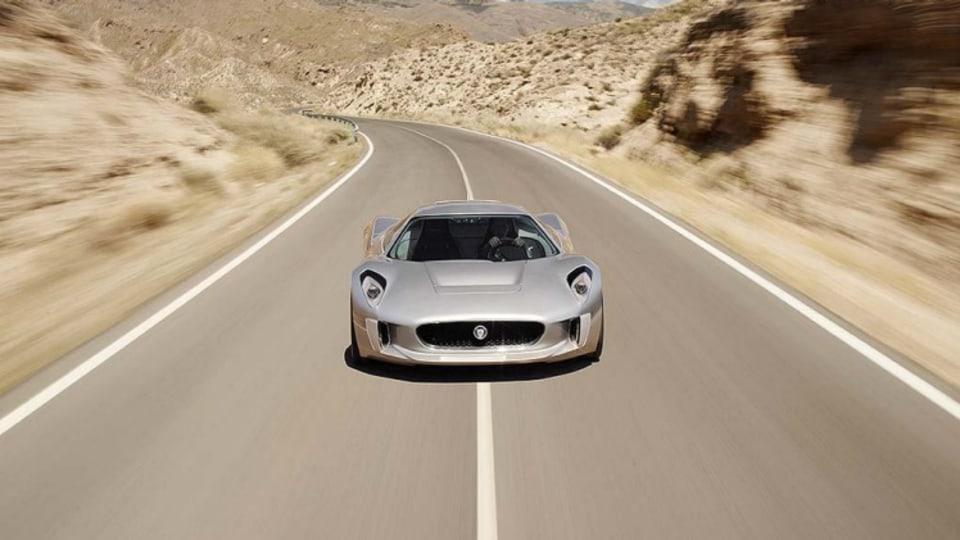 Jaguar C-X75 hybrid supercar