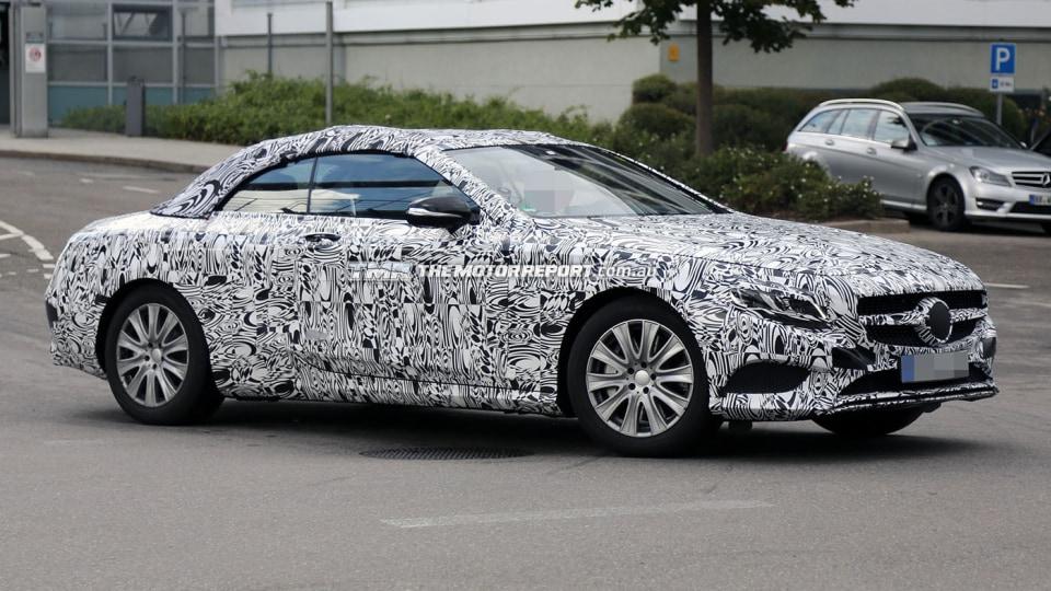 2016 Mercedes-Benz S-Class Cabriolet Spied