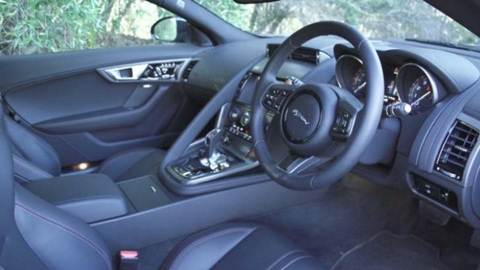Jaguar F-Type S Coupe.
