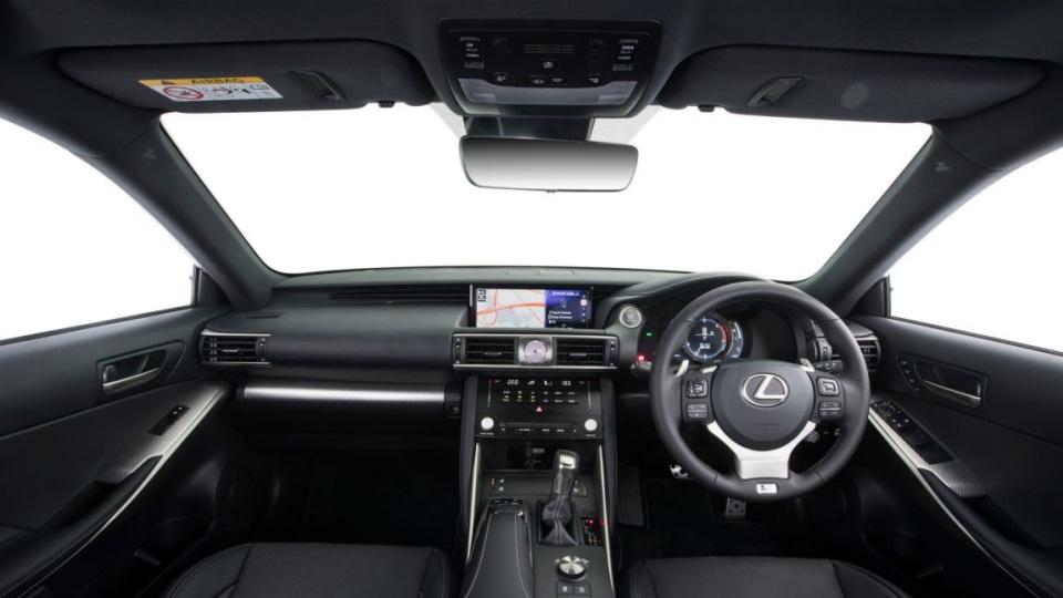 2017 Lexus IS200t F Sport.