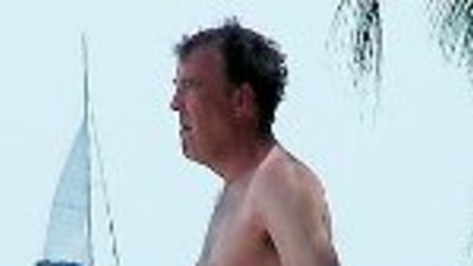 Jeremy Clarkson Crashes While Filming Top Gear