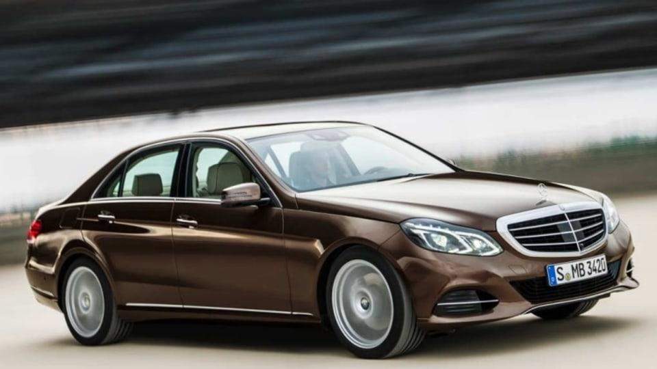 New Mercedes-Benz E-Class Bluetec Hybrid.