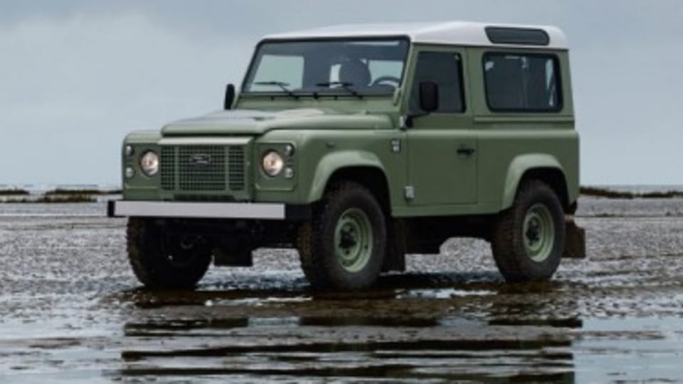 2016 Land Rover Defender 90 Heritage limited edition.