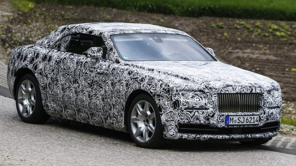 Rolls-Royce has confirmed the name for its Wraith-based convertible will be Dawn