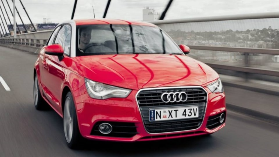 Audi's new A1 small-car is a hit.