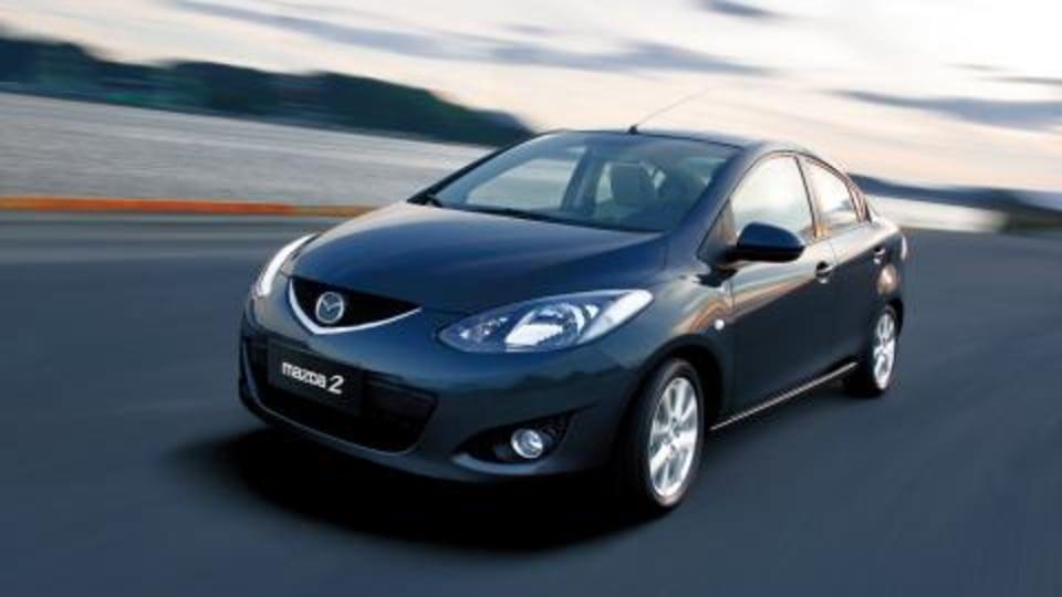 Mazda2 sedan to be revealed in China