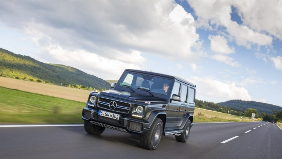 Old school charm: the 2016 Mercedes-AMG G63